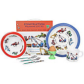 Children's Melamine Dinner Set 7 pc - Construction