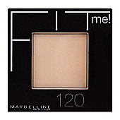 Maybelline New York Fit Me! Pressed Powder / Face Powder Compact 9g (Brand New)Nude Beige (125)