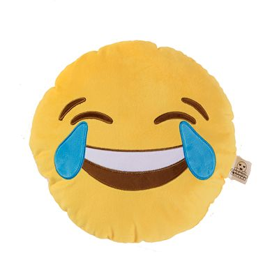 Emoji Cushion - Crying With Laughter