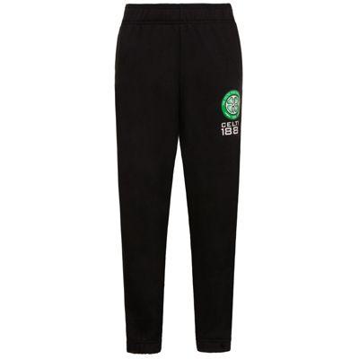 Celtic FC Boys Slim Fit Jog Pants Black 6-7 Years