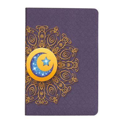 iPad Mini 1 / 2 / 3 Bohemian Mandala Style Flip Over Cover Case - Navy