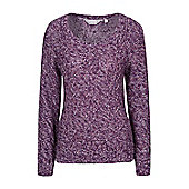 Mountain Warehouse Natalia Womens Knit Top ( Size: 8 )