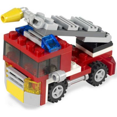 LEGO Creator Mini Fire Rescue 3 in 1 Kit 6911
