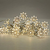 Sunflower 20 LED Battery Operated String Lights Warm White