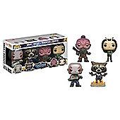 Marvel Guardians O/T Galaxy 2POP! Bobble 4-Pack #1