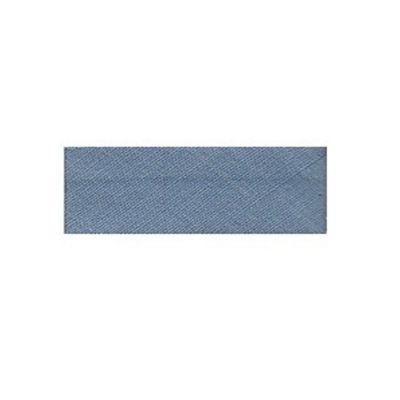 Essential Trimmings Polycotton Bias Binding, 2.5m x 12mm, China Blue