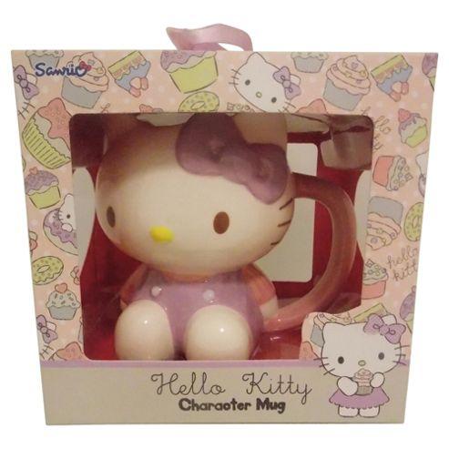 Hello Kitty 3D Molded Mug