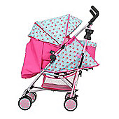 Obaby Zeal Stroller Pram Bundle - Cottage Rose