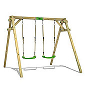 Children's wooden swing FATMOOSE JollyJim Air XXL