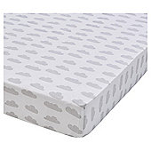 Weather Printed 2 Pack Cot Bed Sheets