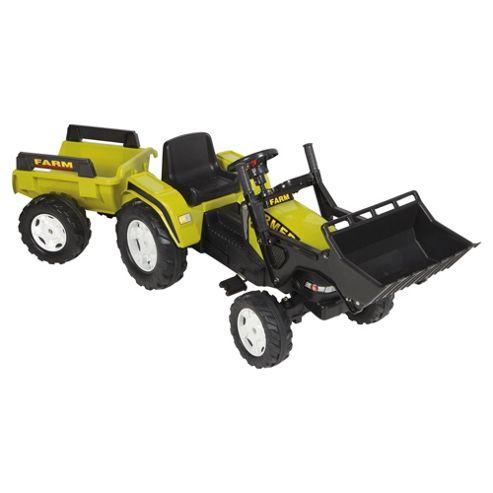 Falk Farmer Tractor & Trailer Ride-On