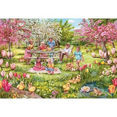 Five Little Ducks - 1000pc Puzzle