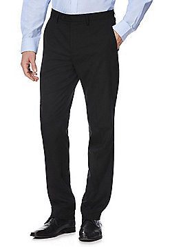 F&F Stretch Slim Fit Trousers - Black