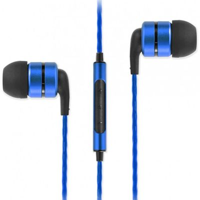 SoundMAGIC E80C In Ear Isolating Earphones Blue