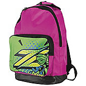 Mazon All Star Junior Sports Backpack with Adjustable Back Straps - Pink