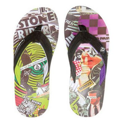Volcom Vocation Youth Multi Sandals