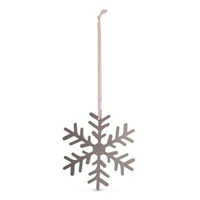 Large Metal Christmas Tree Decoration Snowflake Design A