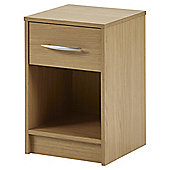 Kimpton 1 Drawer Bedside Table – Oak