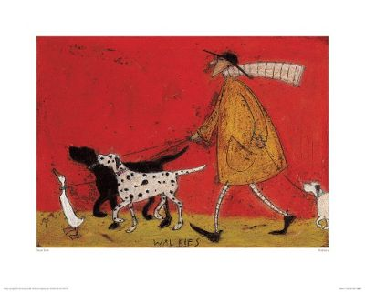 Sam Toft Walkies Print