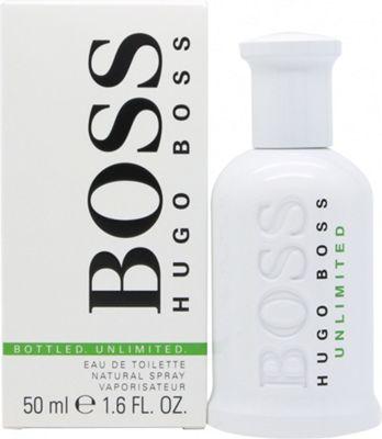 Hugo Boss Boss Bottled Unlimited Eau de Toilette (EDT) 50ml Spray For Men