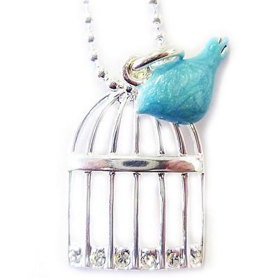 Martick Jewellery - Birdcage Necklace