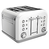 Morphy Richards 242005 Accents  4 Slice Toaster - White
