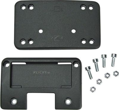 Rixen & Kaul Spare Fixing Plate. For Front Basket To Fit KLICKfix Adapter