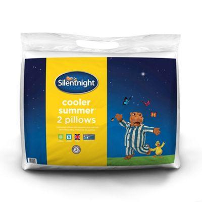 Silentnight Cooler Summer Pillow - 2 Pack