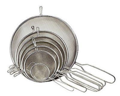 Chef Aid Stainless Steel Strainer, 15cm Diameter