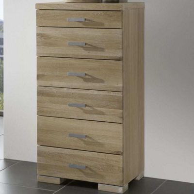 Home Zone Furniture Java 6 Drawer Chest