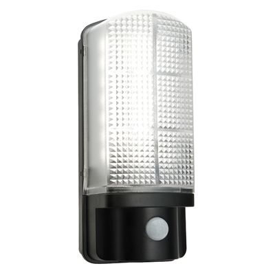 Sella 1 Light 7W Wall Light Natural White Matte Black Textured