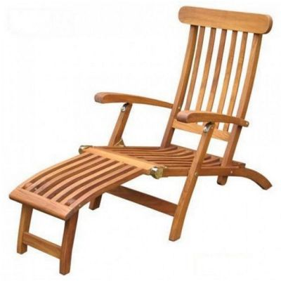 Teak Steamer Chair