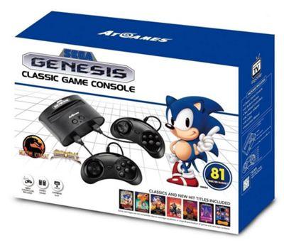 Sega Mega Drive Classic Game Retro Console