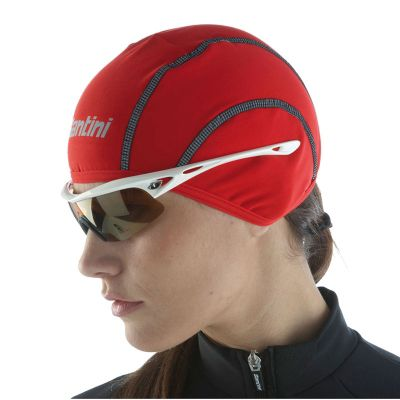 SP490TFPH2O - Santini H20 Skull Cap Red