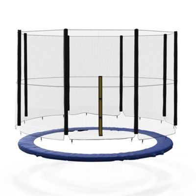 We R Sports 12FT BounceXtreme Replacement Trampoline Safety net & Spring Cover Padding Bundle