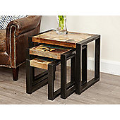 Nest of tables home furniture tesco direct tesco baumhaus irf08a urban chic nest of tables watchthetrailerfo