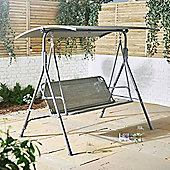 VonHaus 3 Seater Swing Seat With Canopy