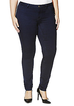 Junarose Plus Size Stretch Jeans - Indigo rinse