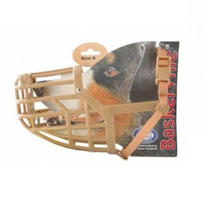 Baskerville Dog Muzzle (Size 9) - GSD
