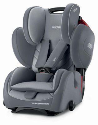 Recaro YoungSport Hero Group 1 2 3 Car Seat - Aluminium Grey