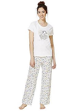 Disney Bambi Thumper Slogan Pyjamas - Multi