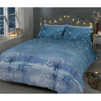 Rapport Starry Nights Grey Duvet Cover Set - Single