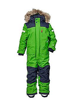 Didriksons Bjornen Kids Snowsuit - Kryptonite - Green