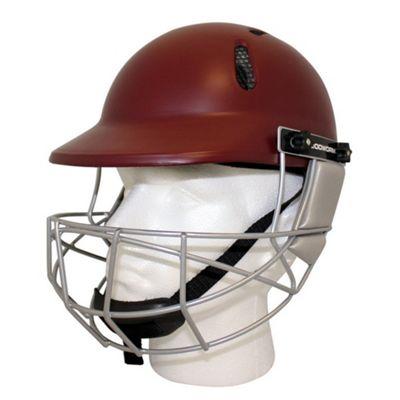 Woodworm Cricket Select Junior Kid Cricket Helmet - Maroon