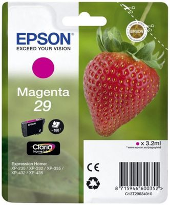 Epson C13T29834022 3.2ml 180pages Magenta ink cartridge