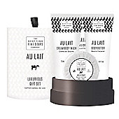 Scottish Fine Soaps Au Lait Luxurious Drum Gift Set