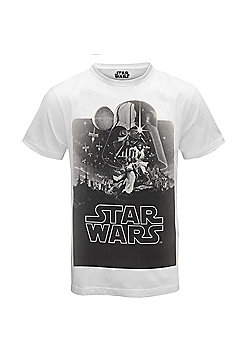 Star Wars Mens T-Shirt - Black