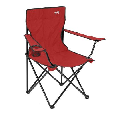 Trail Folding Camping Chair Red
