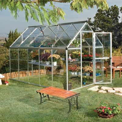 Palram Harmony 6x10ft Silver Greenhouse