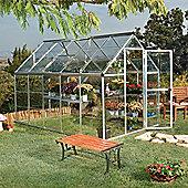 Palram Harmony 6x10 -Silver Greenhouse - Polycarbonate and Aluminium Frame